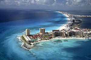 Beach in Cancún
