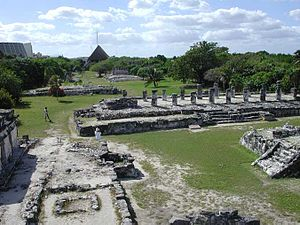 """""""El Rey"""" ruins in Cancún"""